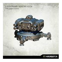 Legionary Sentry Gun: Twin Twin Magma Cannons