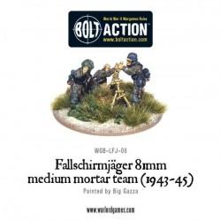 Fallschirmjager 81mm Mortar & Crew