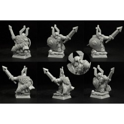 28mm/30mm Dwarves Steam Thunders