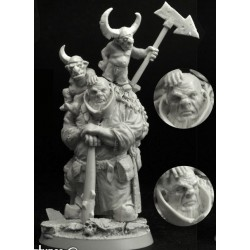 28mm/30mm Goblins Players 3 figures set2 (3)