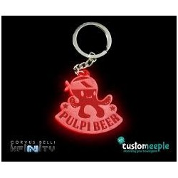 Pulpibeer Key-ring (Etched)