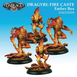 Dragyri Fire Caste Ember Unit Box