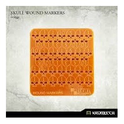 SKULL WOUND MARKERS ORANGE