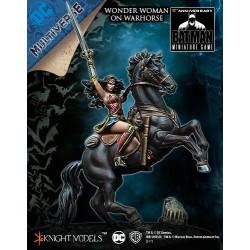 WONDER WOMAN ON WAR HORSE
