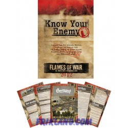 Know Your Enemy: 2012 Late War Edition (libro de actualizaciones Late War)