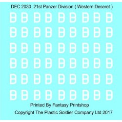 1/72nd Decal Set DAK Air recognition