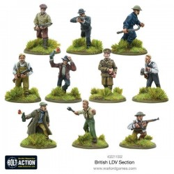 BRITISH LDV SECTION (METAL BOXED SET)