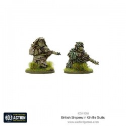 BRITISH SNIPERS IN GHILLIE SUITS (METAL BLISTER PACK)