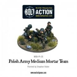 Polish Army 81mm Mortar team
