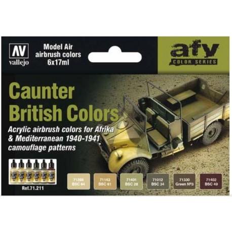British Caunter Colors