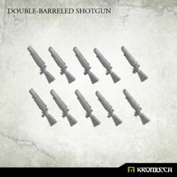 DOUBLE BARRELED SHOTGUN