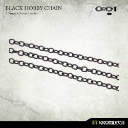 BLACK HOBBY CHAIN 3,5 X 3MM (1 METER)
