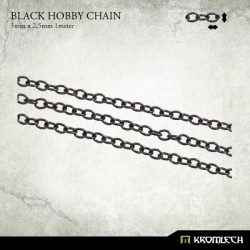 BLACK HOBBY CHAIN 3 X 2,5MM (1 METER)