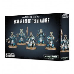 THOUSAND SONS, SCARAB OCCULT TERMINATORS