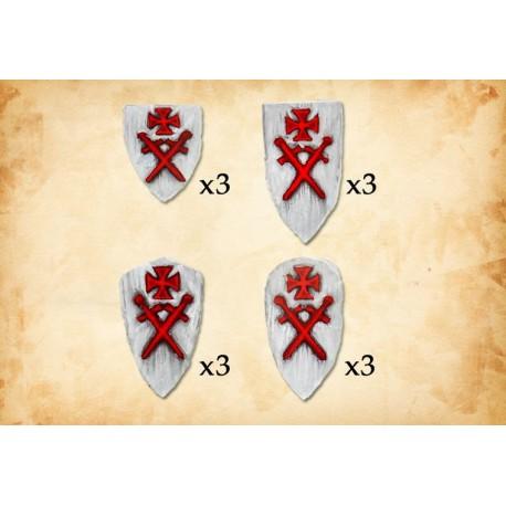 Livonian Order Shields (1)