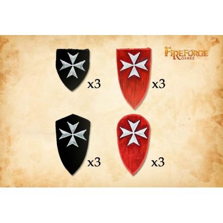 Livonian Order Shields (2)