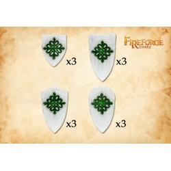 Teutonic Knight Shields