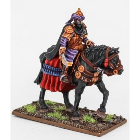 Leader on Barded Horse (Fleur-de-Lis)