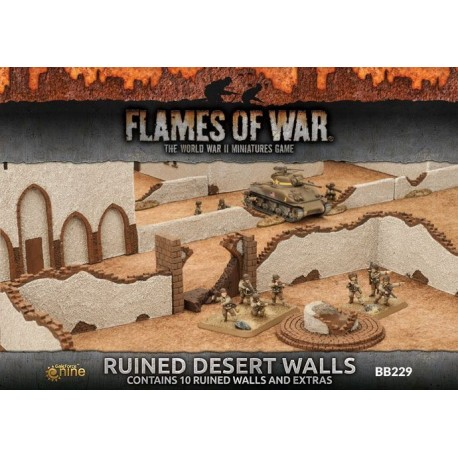 Ruined Desert Houses