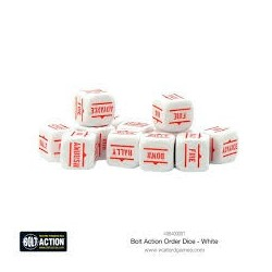 WHITE ORDER DICE PACK