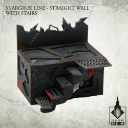 SKARGRUK LINE- STRAIGHT WALL WITH STAIRS