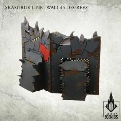 SKARGRUK LINE- WALL 45 DEGREES (OUTER)