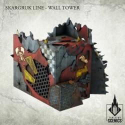 SKARGRUK LINE- WALL TOWER