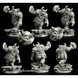 28mm/30mm Ogre Football Player 5