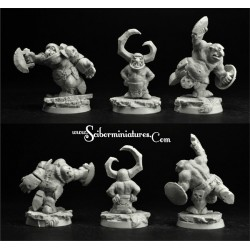 28mm/30mm Ogre Football Player 6