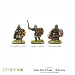 SAXON EARLS AND KINGS 11TH CENTURY