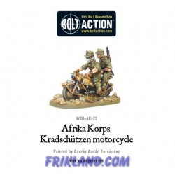 AFRIKA KORPS MOTORCYCLE