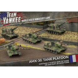 Team Yankee French Token Set