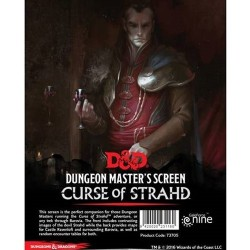 D&D: Curse of Strahd - DM Screen