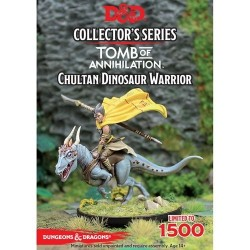D&D: Tomb of Annihiliation - Chultan Dinosaur Warrior