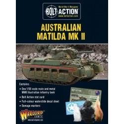 AUSTRALIAN MATILDA II INFANTRY TANK