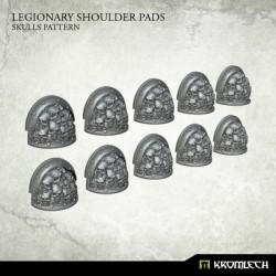 LEGIONARY SHOULDER PADS: SKULL PATTERN (10)