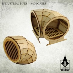 INDUSTRIAL PIPE 90 DEGREES