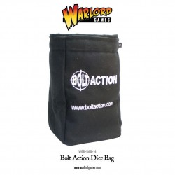 DICE BAG AND ORDER DICE (BLACK)