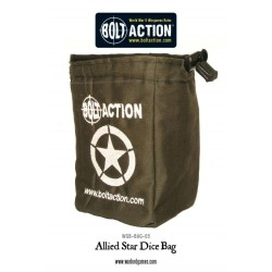 ALLIED DICE BAG AND ORDER DICE (GREEN)