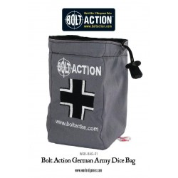 GERMAN ARMY DICE BAG AND DICE