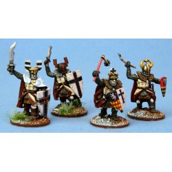 Ordensstaat Hearthguards with Heavy Weapons (4)