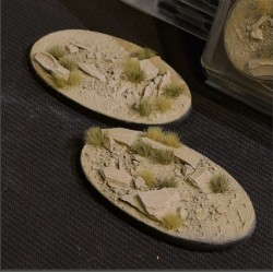 Arid Steppe Bases Oval 90mm (x2)