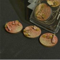 Badlands Bases Round 50mm (x3)