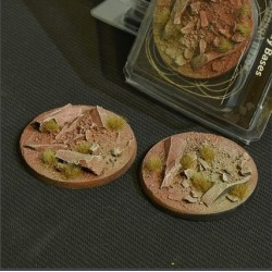 Badlands Bases Round 60mm (x2)