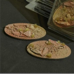 Badlands Bases Oval 90mm (x2)