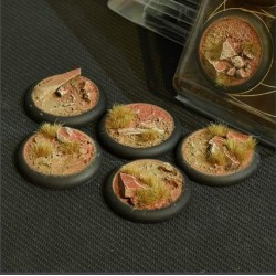 Badlands Bases RoundLip 40mm (x5)