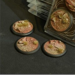 Badlands Bases RoundLip 50mm (x3)