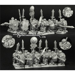 Ice Stronghold Dwarves (10)