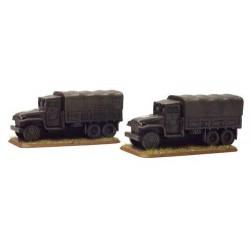 GMC 2 1/2 Ton truck  (2x Resin)