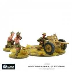 AFRIKA KORPS PAK 36 LIGHT ANTI TANKGUN